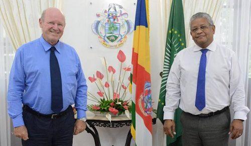 Seychelles President Receives Mr Alain St Ange at State House - TRAVELINDEX