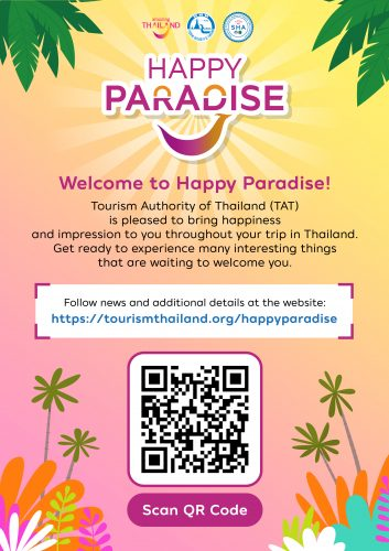 Happy Paradise by TAT Tourism Authority of Thailand